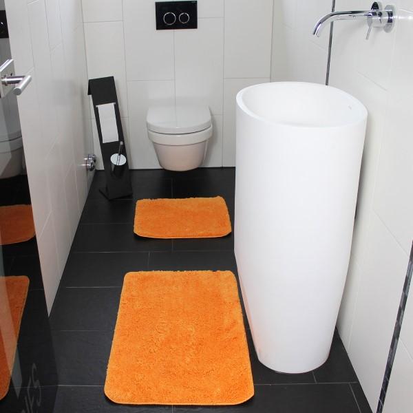 badematte set 50x80 45x50cm wc vorleger badteppich badvorleger duschvorleger ebay. Black Bedroom Furniture Sets. Home Design Ideas