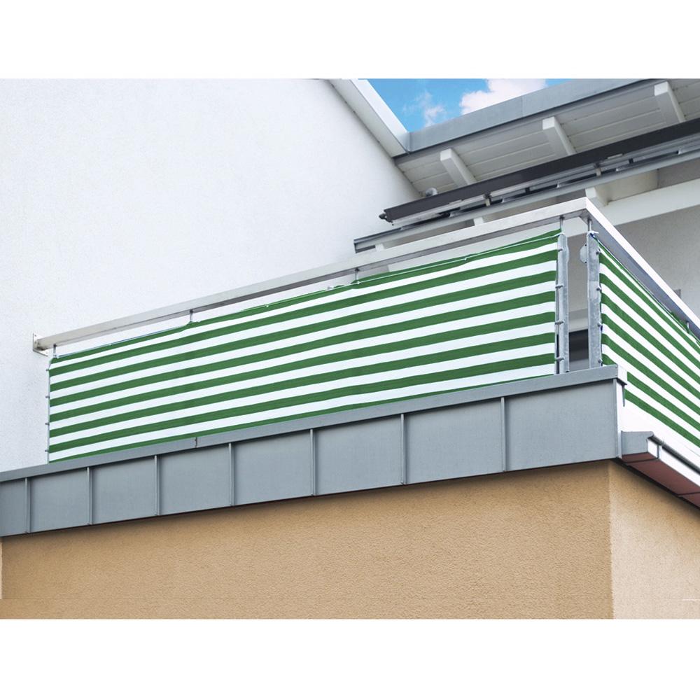 Balkon Sichtschutz nach Maß HDPE Gewebe Windschutz