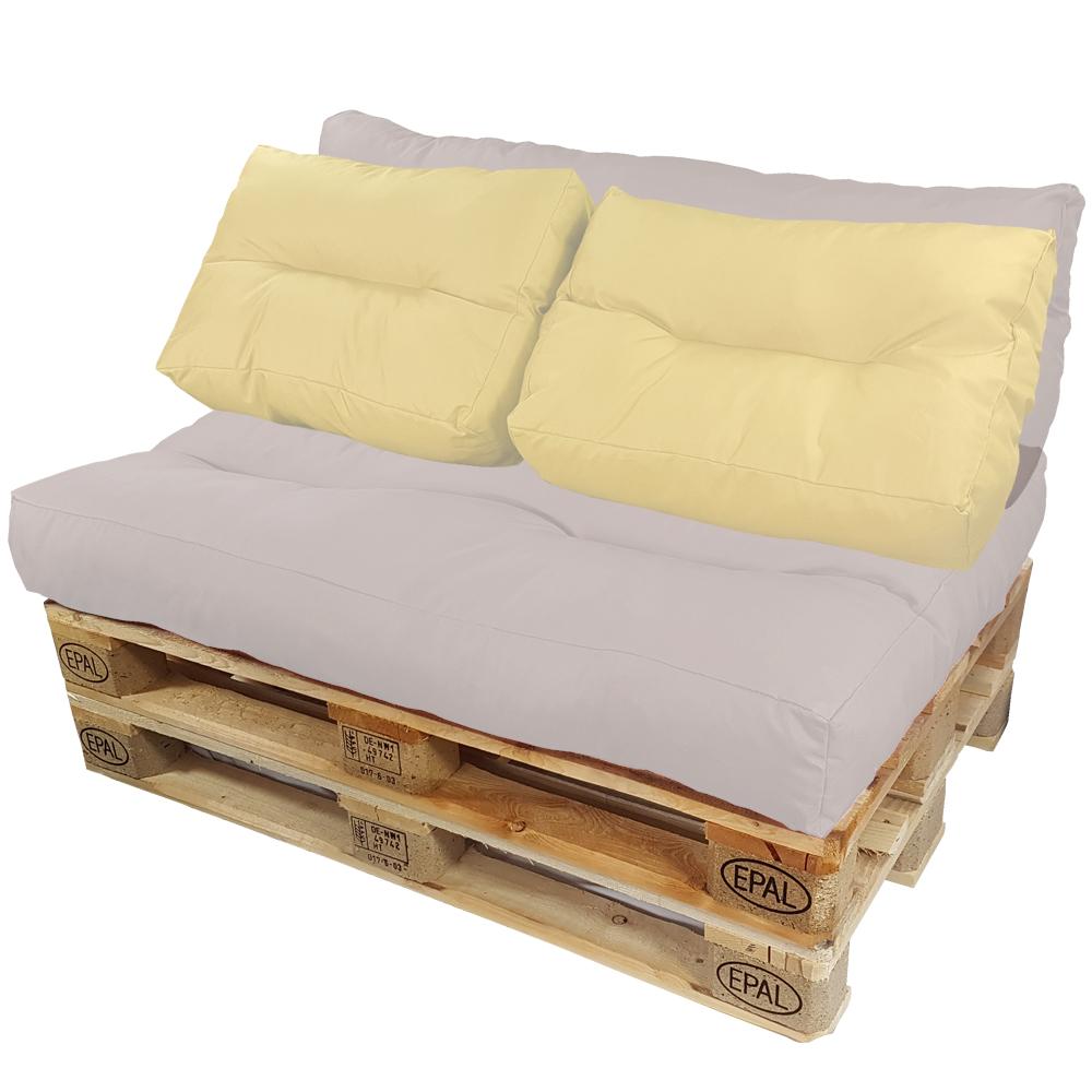 palettenkissen 2 r ckenkissen palettenpolster paletten. Black Bedroom Furniture Sets. Home Design Ideas