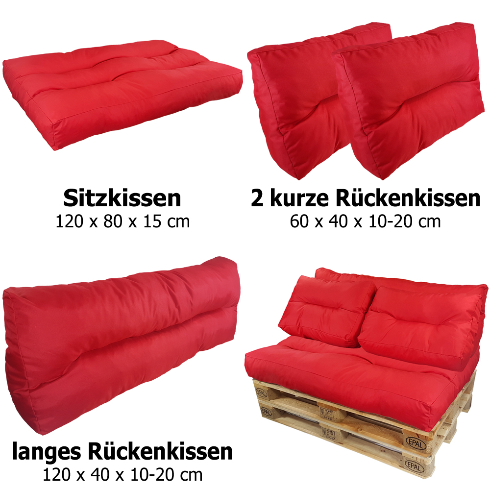 palettenkissen palettenpolster euro paletten sofa auflage. Black Bedroom Furniture Sets. Home Design Ideas
