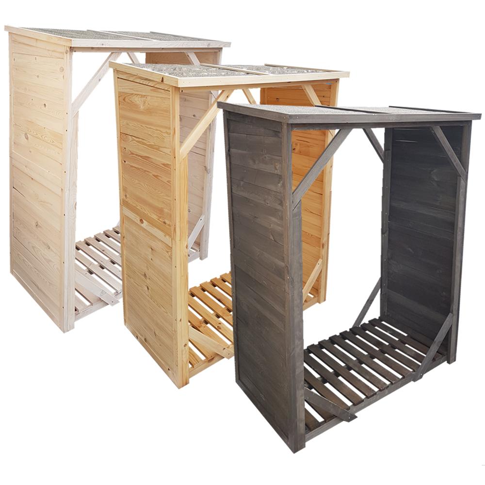 proheim kaminholzregal brennholzregal kaminholzunterstand unterstellplatz holz. Black Bedroom Furniture Sets. Home Design Ideas