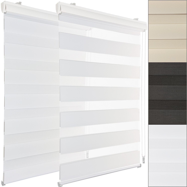 duorollo klemmfix doppelrollo seitenzugrollo klemmrollo easyfix fenster rollo ebay. Black Bedroom Furniture Sets. Home Design Ideas