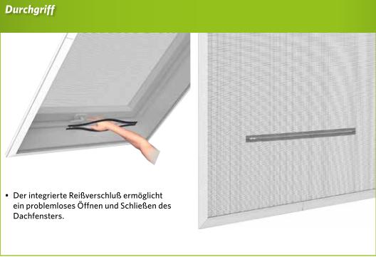 Gut gemocht easy life Insektenschutz-Sonnenschutz-Dachfenster 140x170cm CX98